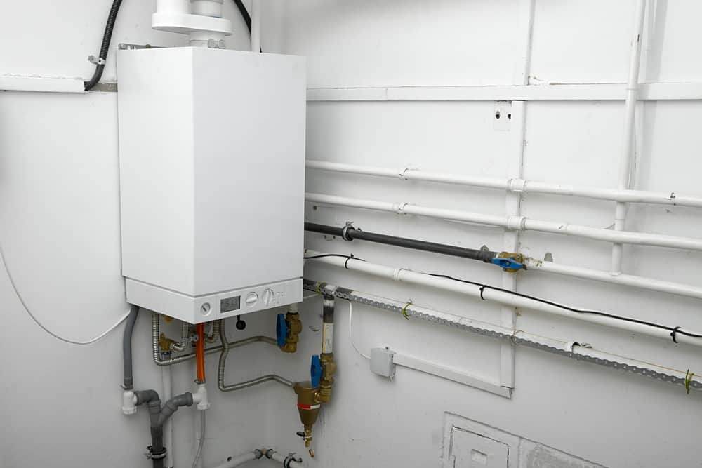 Home tankless gas water heater