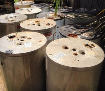 Retired Water Heaters