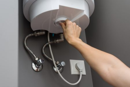 Adjusting the temperature of a water heater