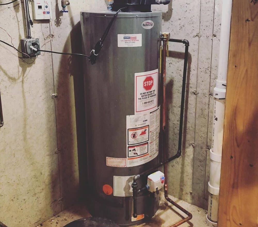 richmond water heater reviews
