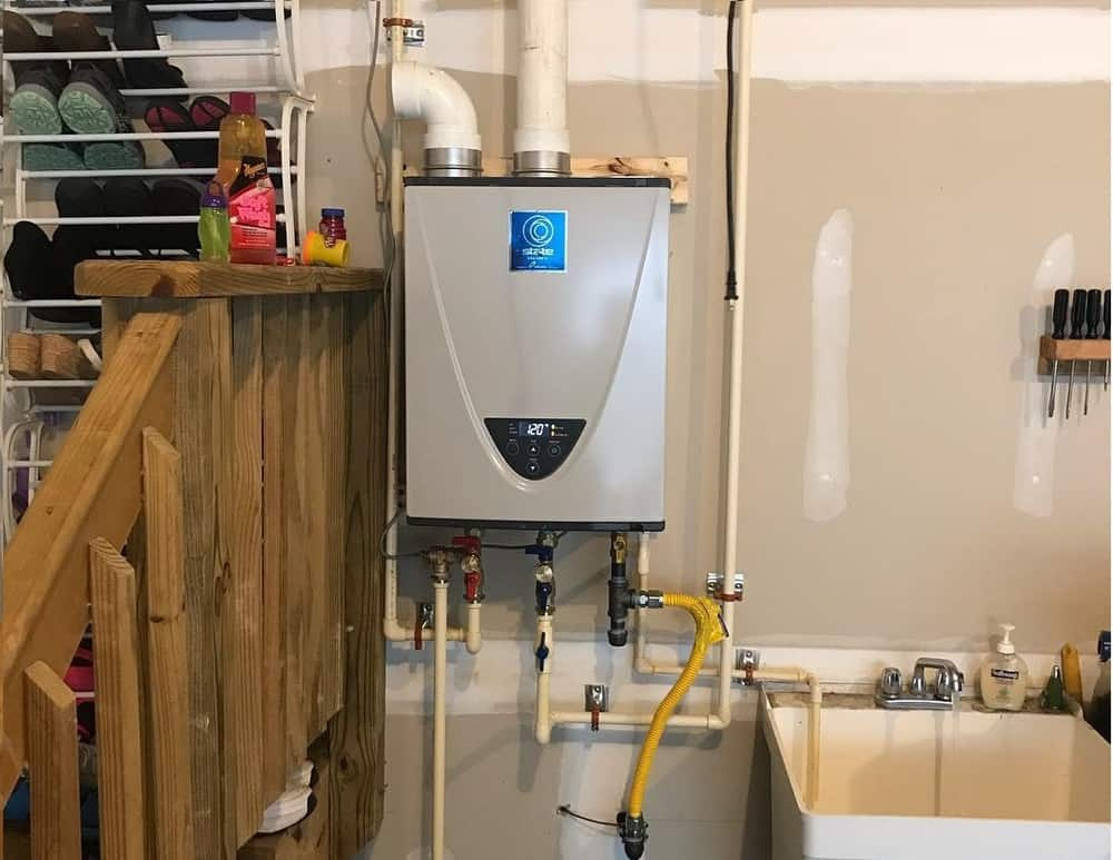 State tankless water heater