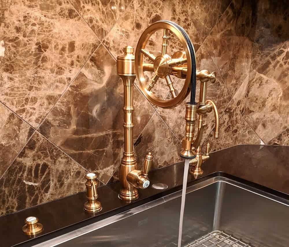 A beautiful Waterstone Faucet