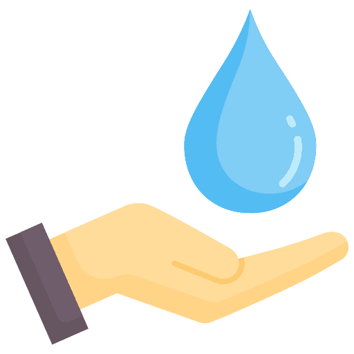 Start Saving Water Today Icon