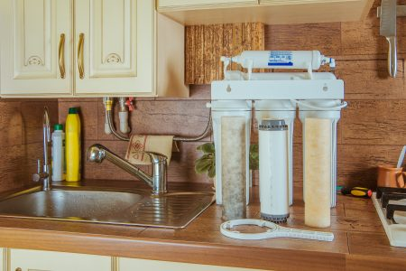 water softener with Reverse osmosis system