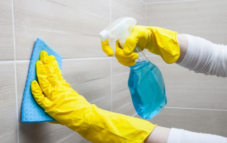 Removing Hard Water Stains from Tiles (4 Effective Methods)
