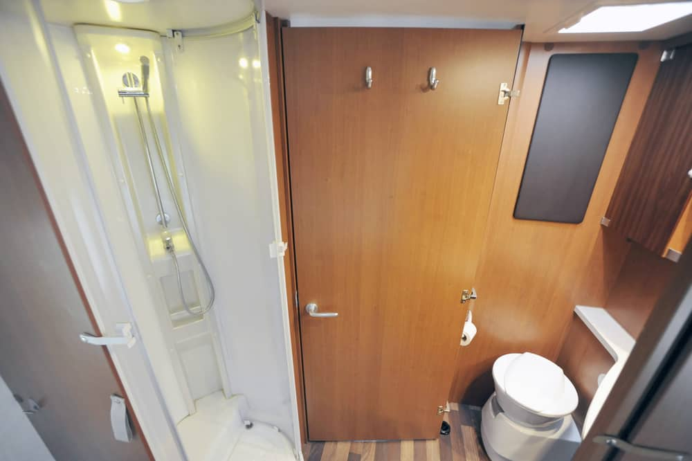 Rv shower room