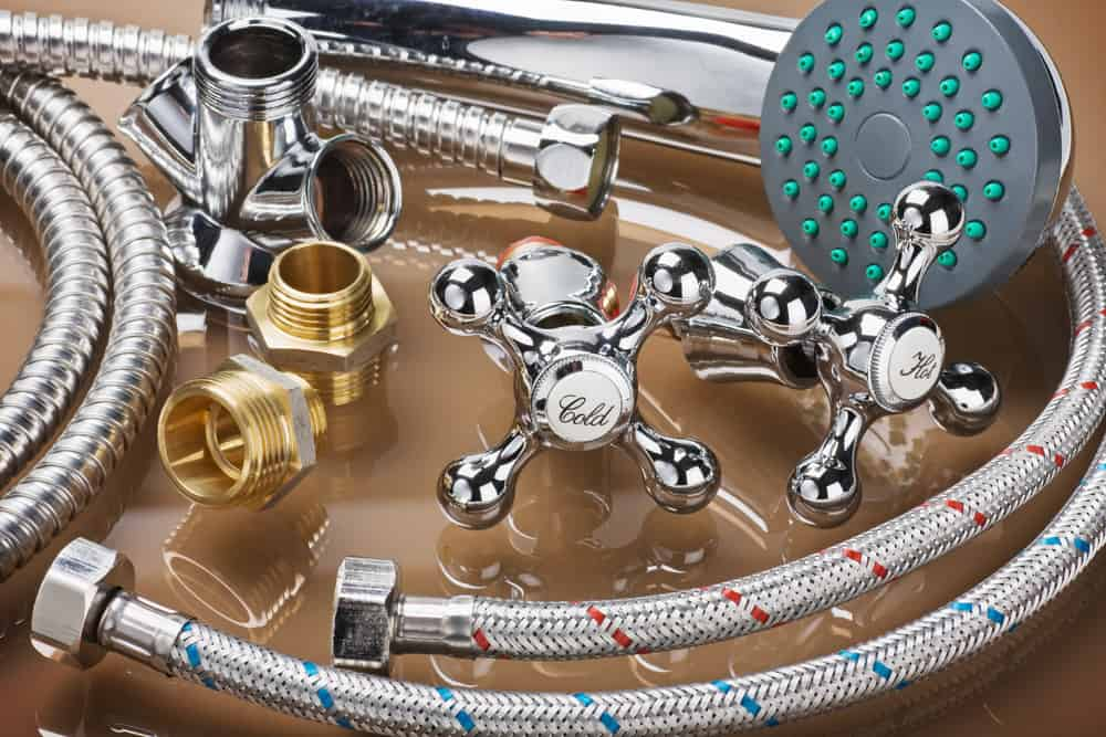 Shower valves and fixtures