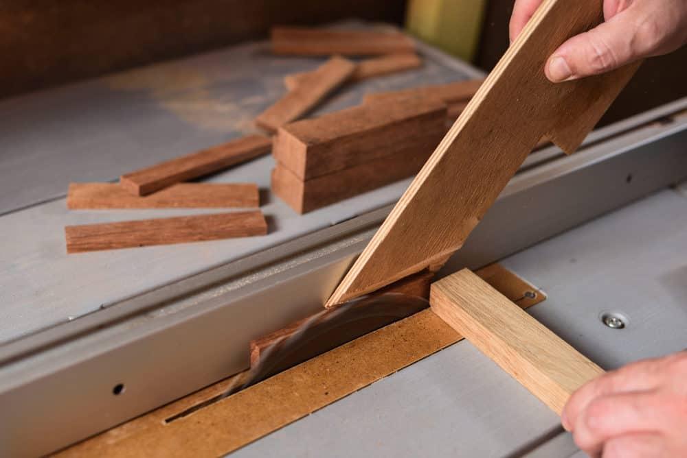 Cut Skinny Strips Safely