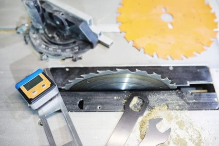 Tables saw and blades