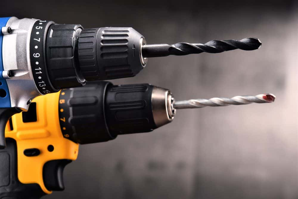 Brushed and brushless drill