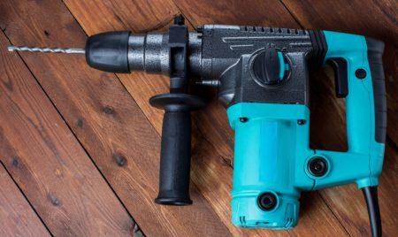 Industrial hammer drill