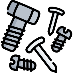 Collated or Single Screws Icon
