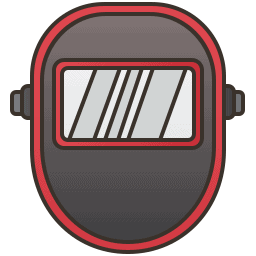 A Helmet With a View Icon