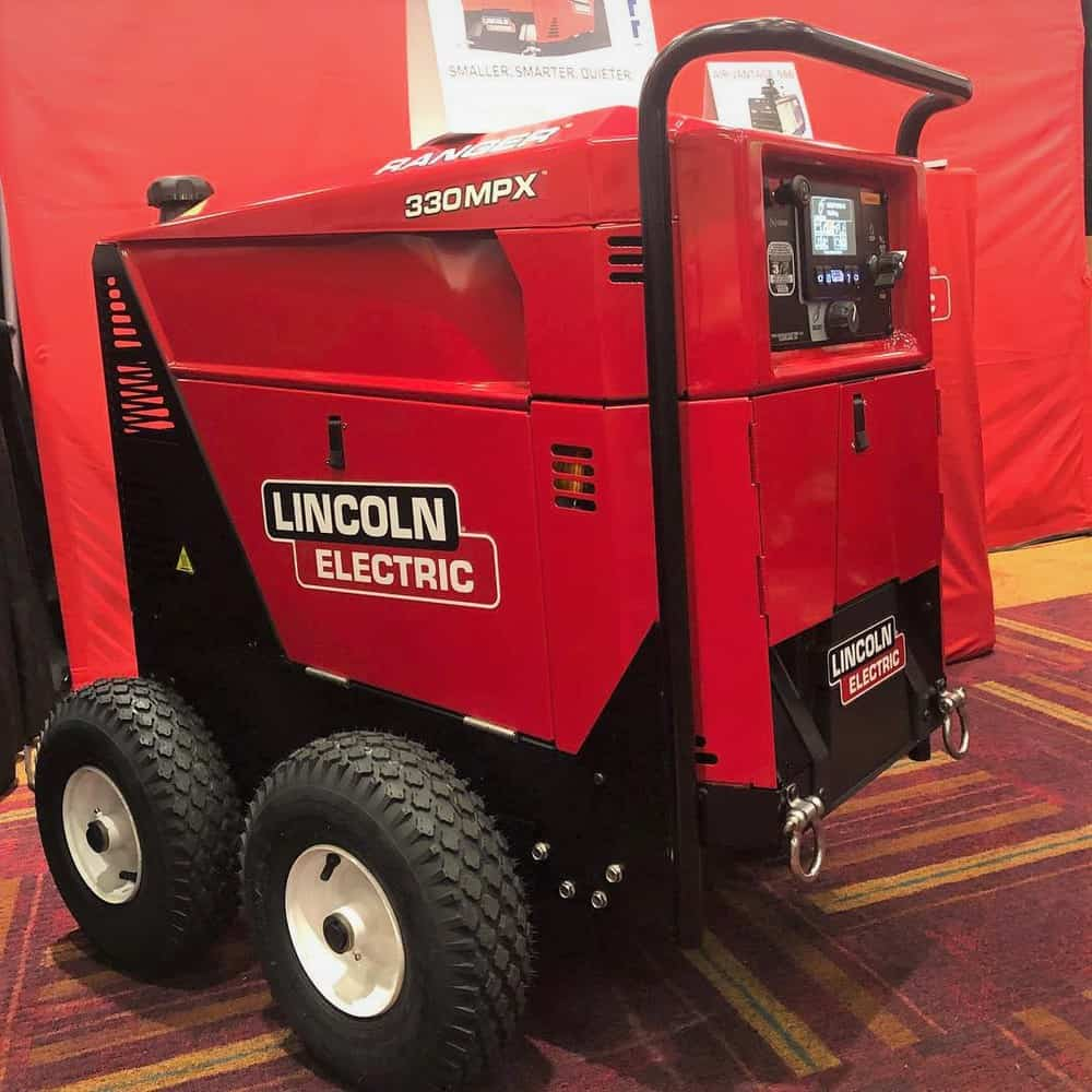 A lincoln electric welder generator