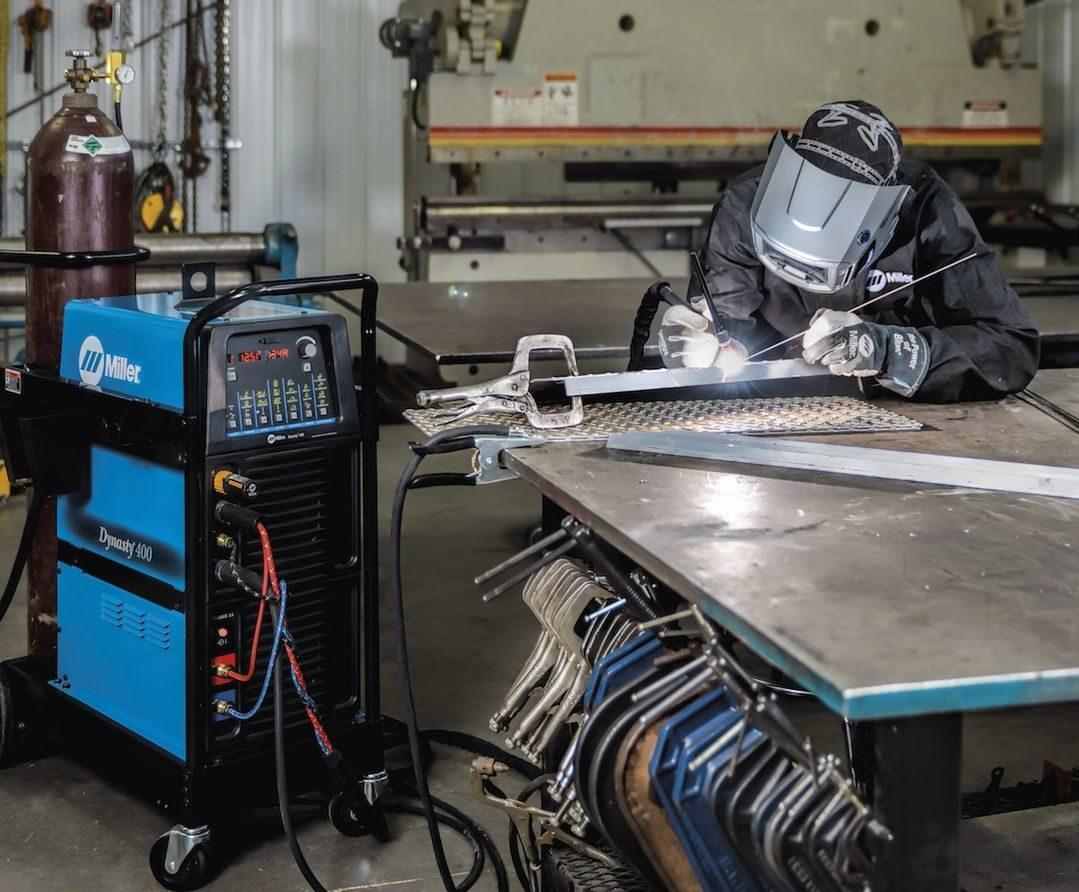 A welding cart