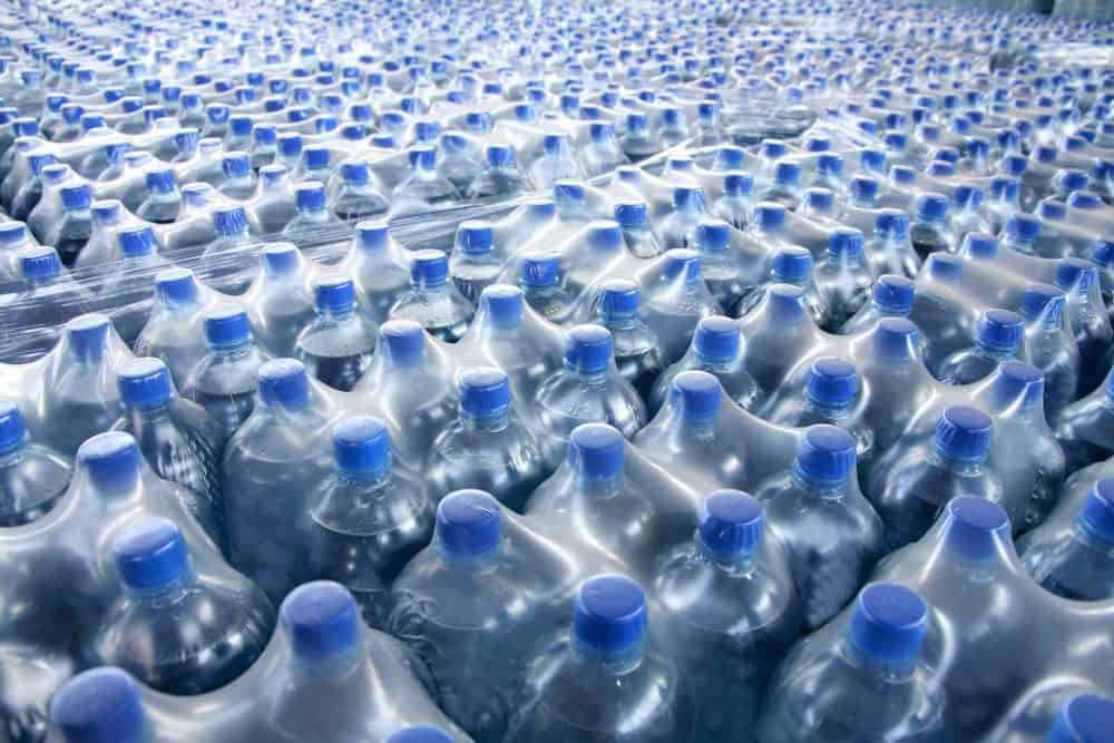Water bottle manufacturing