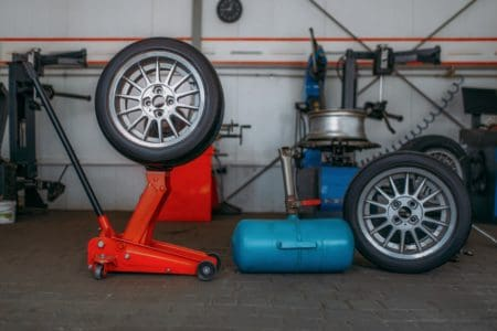 Home garage air compressor