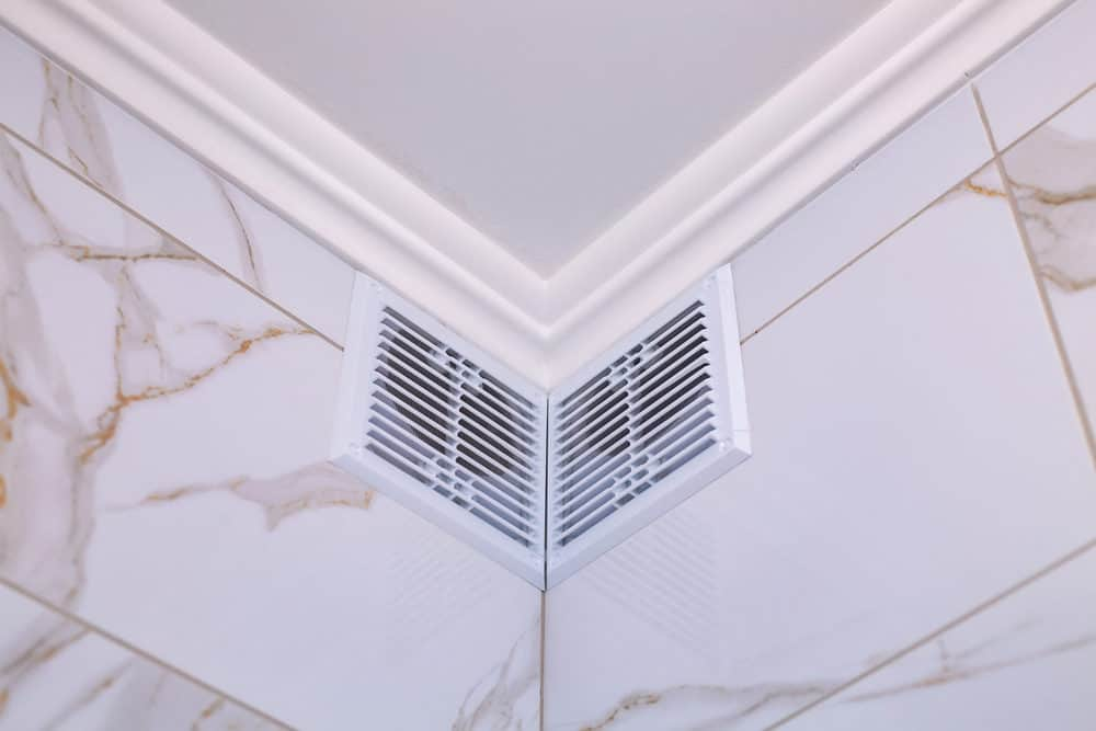 Small bathroom exhaust fans