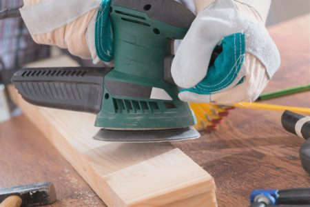 When To Use a Belt and Orbital Sander