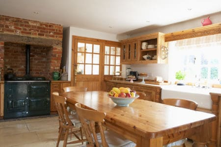 Interior of famouse kitchen