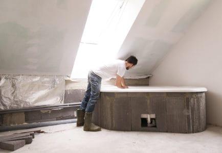 Remodeling a bathroom